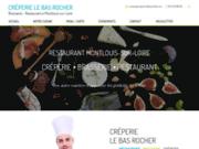 screenshot http://www.creperie-lebasrocher.com crêpe