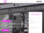 screenshot http://creteil-immobilier.fr agence immobiliere creteil vajou immobilier cvi