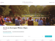 screenshot http://www.crijrhonealpes.fr/ crij rhône-alpes