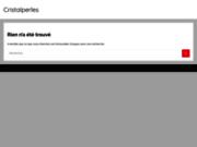 screenshot http://www.cristalperles.com vente de perles