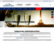Croisières en Seine - Séminaire d'entreprise - aux portes de Paris en Seine et Oise