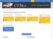 screenshot http://www.ctm31.fr contrôle technique en Haute-Garonne