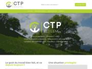 screenshot https://www.ctp-exterieur.fr Paysagiste Megève