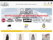screenshot http://www.cuirsetfourrures.com le site de vente en ligne