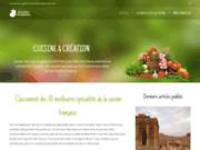 screenshot http://www.cuisi-crea.fr/ cuisiniste cuisi-créa dans l'eure 27