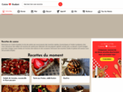 screenshot http://www.cuisine-etudiant.fr cuisine d'etudiant