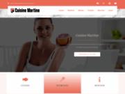 screenshot http://www.cuisine-martine.com la cuisine de martine