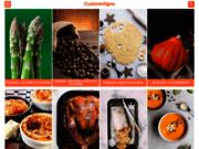 screenshot http://www.cuisinenligne.com cuisinenligne