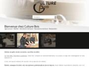 screenshot http://www.culture-bois.eu Menuiserie Metz, Thionville, Luxembourg : Culture Bois