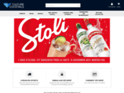screenshot http://www.culturecocktails.com/ culture cocktails, vente de spiritueux premium