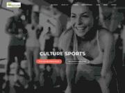 screenshot http://culturesports.fr/ salle de sport à vannes – plescop : culture sports