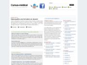 screenshot http://www.cursus-medical.fr/ cursus-médical : une aventure de 9 ans