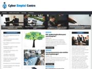 screenshot http://www.cyber-emploi-centre.com/ cyber emploi centre