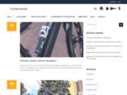 screenshot http://www.cycles-louvet.com boutique vélo équipement