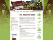 screenshot http://www.cycleslouison.com cycles louison à beaumes-de-venise