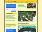 screenshot http://www.cycliste.org cycliste