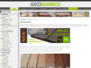 screenshot http://www.cyr.fr cyr distribution, specialiste parquet de bambou