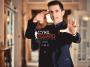 screenshot http://www.cyrilregard.fr cyril regard - magicien