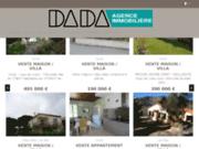 screenshot http://www.dada-immo.com agence immobilière dada - céret 66
