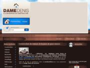 screenshot http://www.dame-constructions.com construction de maison et travaux de gros oeuvre