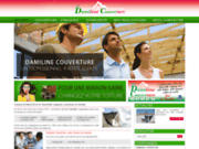 screenshot http://www.damiline-couverture.com rénovation toiture en Vendée 85