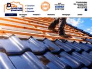 screenshot http://www.danescouverture.fr/ artisan couvreur zingueur