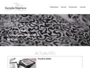 screenshot http://www.daniellestephane.fr danielle stephane - artiste plasticienne