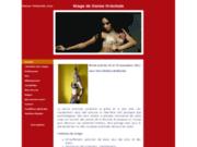 screenshot http://www.danse-orientale.com Stages de danse orientale à Nyons