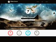 screenshot https://www.dark-seven.com/ Directeur artistique Développeur Freelance WEB