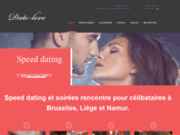 screenshot http://www.date-love.be speed dating: essayer le speed dating.