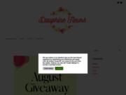 screenshot http://www.dauphinefleurs.com jarinderie et fleuriste à la tour du pin
