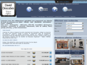 screenshot http://www.david-descubes.fr spécialiste transaction immobilière professionnell