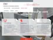 screenshot http://www.dbsm-solutions.fr/ Entreprise