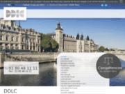 screenshot http://www.ddlc-avocats.com avocat paris 7, droit du travail, cabinet ddlc