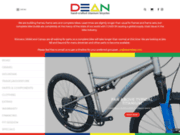 screenshot http://www.deanbikes.com dean titanium bicycles