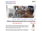 screenshot http://www.debarras-paris.net débarras paris banlieue devis gratuit 0177159125