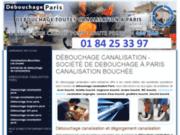 screenshot http://www.debouchage-canalisation-wc-paris.com/ débouchage canalisation sur paris