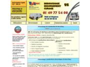 screenshot http://www.debouchage-curage-canalisation-95.com plombier 95 debouchage curage degorgement