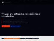 screenshot http://www.debouchage-curage-canalisations.fr IDF Dego