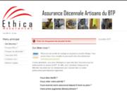 screenshot http://www.decennale.ethica-assurances.fr Assurance Decennale Ethique