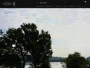 screenshot http://www.decharry-immobilier.com agence immobilière morbihan