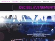 screenshot http://www.decibel-evenement84.fr decibel evenement
