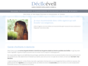 screenshot http://www.decliceveil.fr declic eveil garde d'enfant amelioree