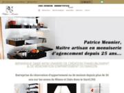 screenshot http://www.decmobois.fr/ decmobois : menuisier paris et ile de france