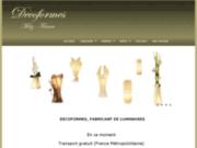 screenshot http://www.deco-cadeaux.com lampe déco