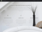 screenshot http://www.deco-ethnique.com décoration d'intérieur africaine et équitable