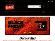screenshot http://www.deco-relief.fr déco'relief : pâtissier, confiseur chocolatier