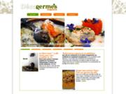 screenshot http://www.decogermes.com/ décogermes magazine - la tendance déco des germes.