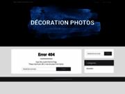 screenshot http://www.decoration-photos.fr/ Décoration-photos, impression de photo sur différents supports.