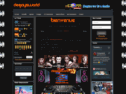 screenshot http://www.deejaysworld.org deejaysword le site de tous les dj's - communauté de djs